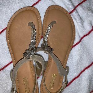 *free in bundle* Rhinestone sandals